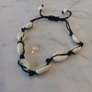 seashell ankle bracelet $25